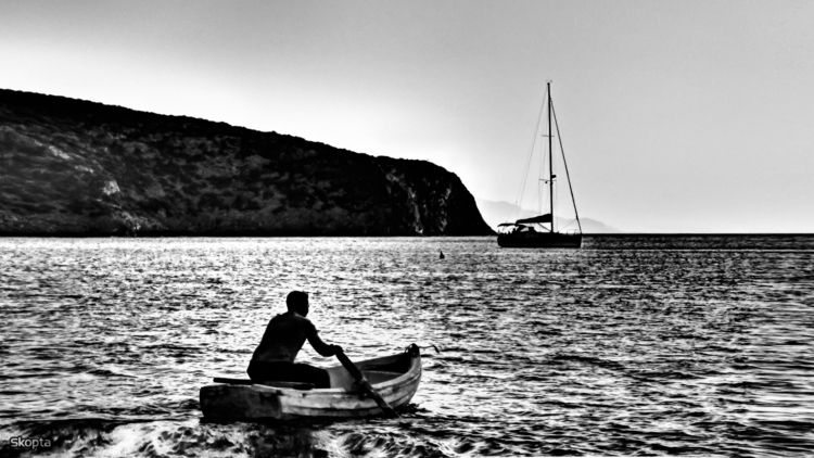 Skopta Photography Fisherman - sifnos - skoptaphotograghy | ello