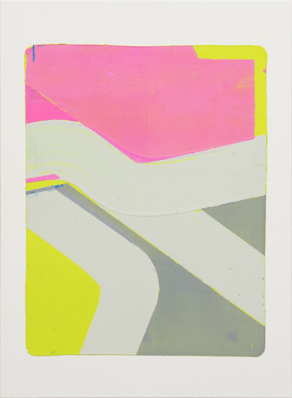 Untitled, 2019 Monotype paper 3 - kazuhirohigashi | ello