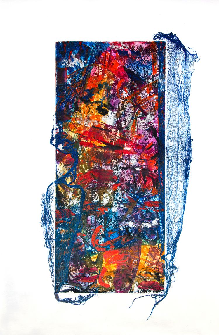 printmaking, print, abstract - enzprints | ello
