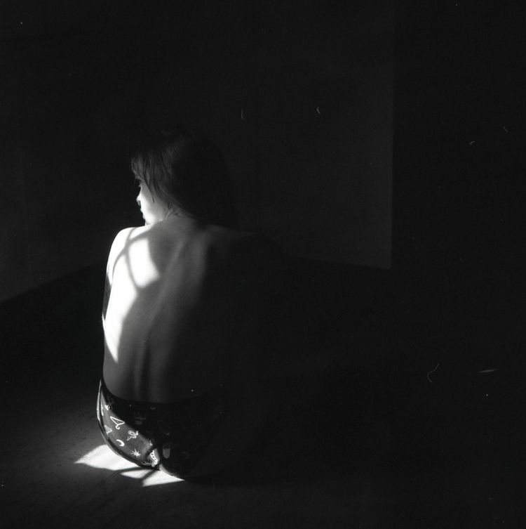 daydreaming shot lady grey mat  - colleensmorgan | ello