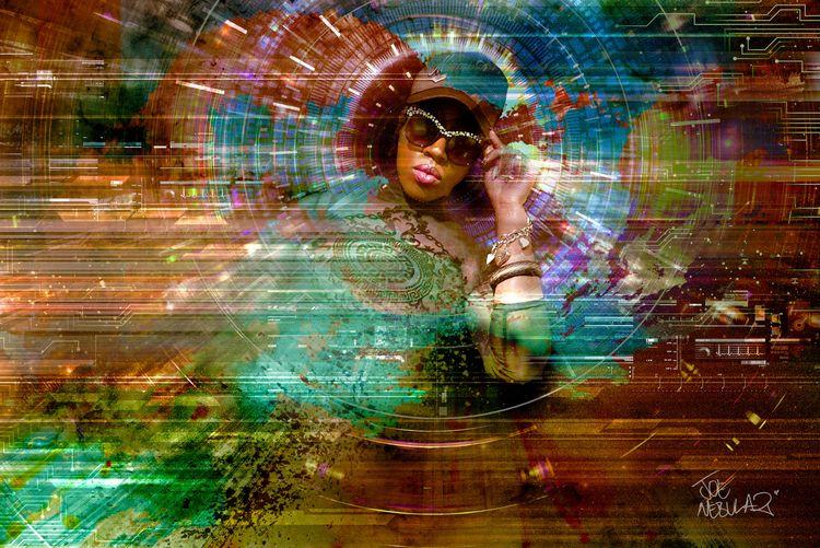Breeze - BlackArt, DigitalArt, Afro - joenebula2 | ello