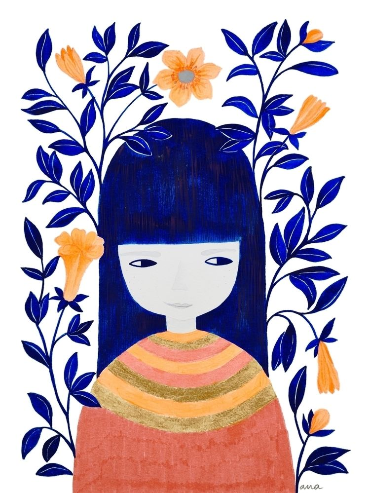 pinknounou, watercolor, aquarelle - pinknounou   ello