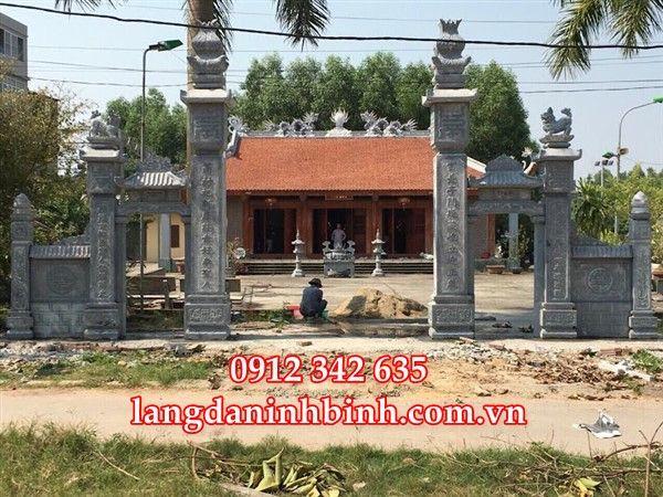 Làm cổng nhà thờ họ bằng đá sự  - langdaninhbinh635 | ello