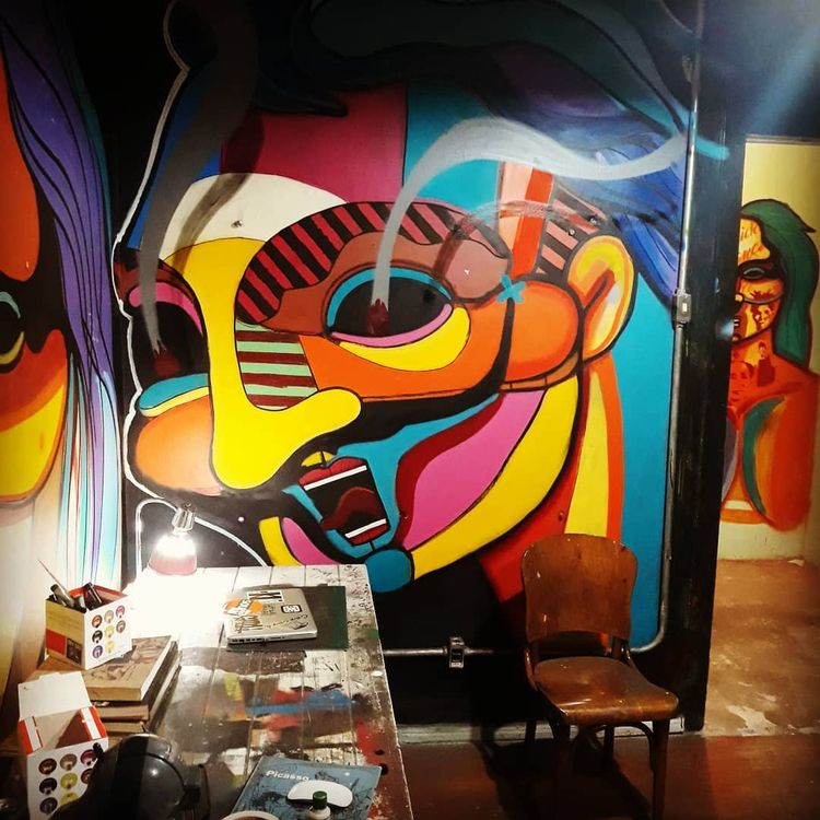 insidestudio, dalicarranca, graffiti - vhinsonia | ello