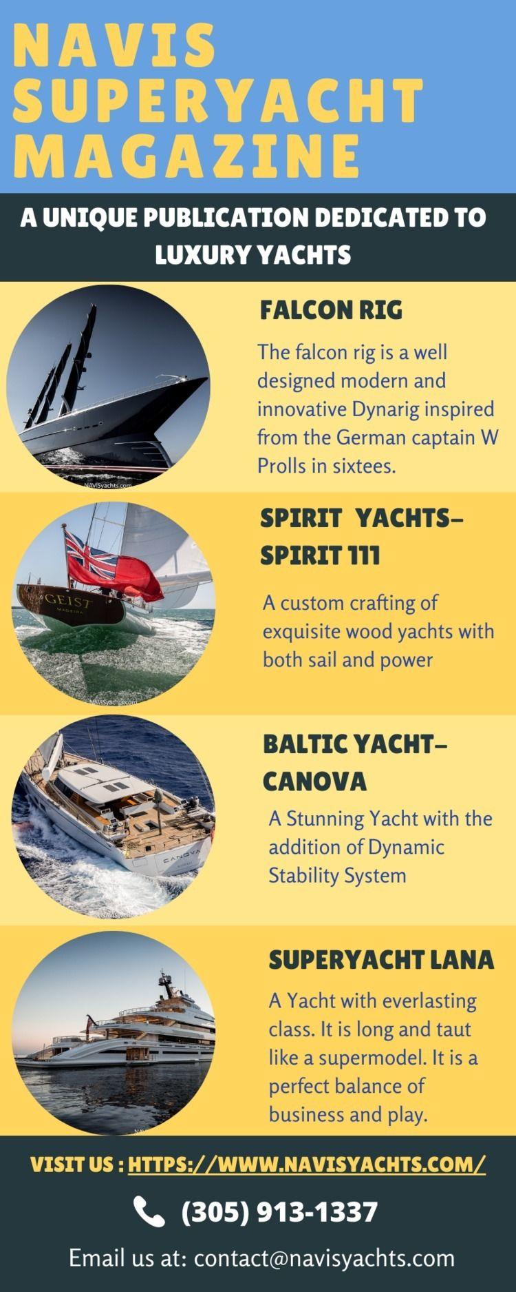 Online Superyacht Magazine - navisyachts   ello