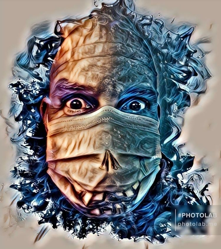 Mask, Pen, time - cali_23h23 | ello