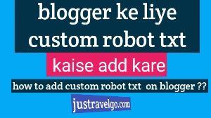 Blog Custom Robots.txt File Kyu - mobaswer | ello
