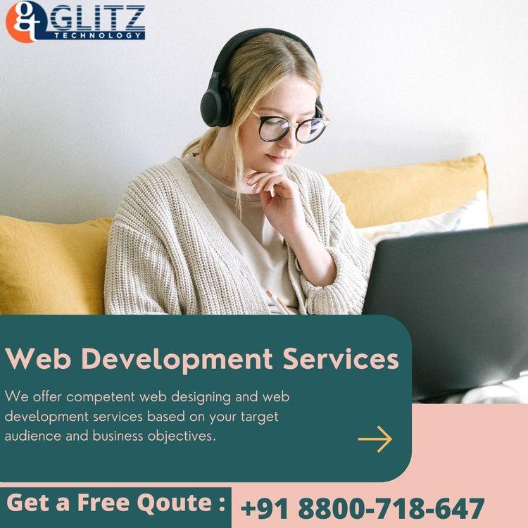 Web Design Development Services - glitztechnologyy   ello