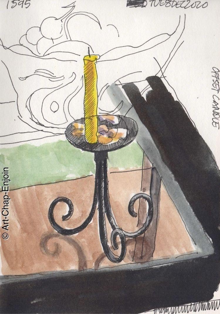 1595 - Offset candle evening sk - artchapenjoin | ello
