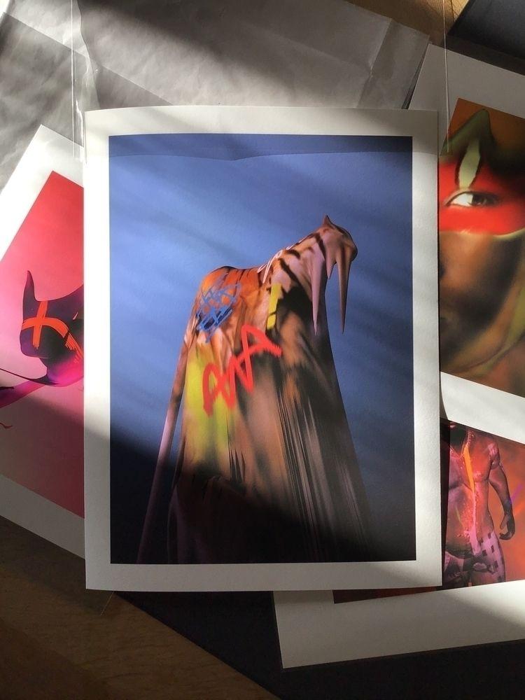« Ghost » Digital Print - 30x40 - drawingrubber | ello