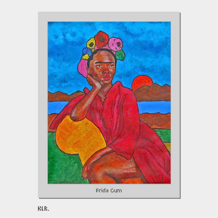 Frida Gum, 2020 Medium: Acrylic - kadi_sabi | ello