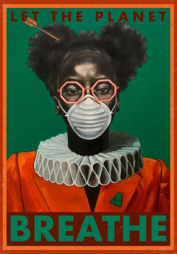 Poster Contaminated World - damiencifelli | ello