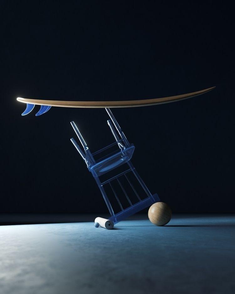 Surfing blue night :surfer:♂️ - umbertodaina | ello