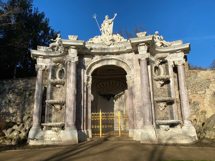 Neptungrotte Park Sanssouci - eatious   ello