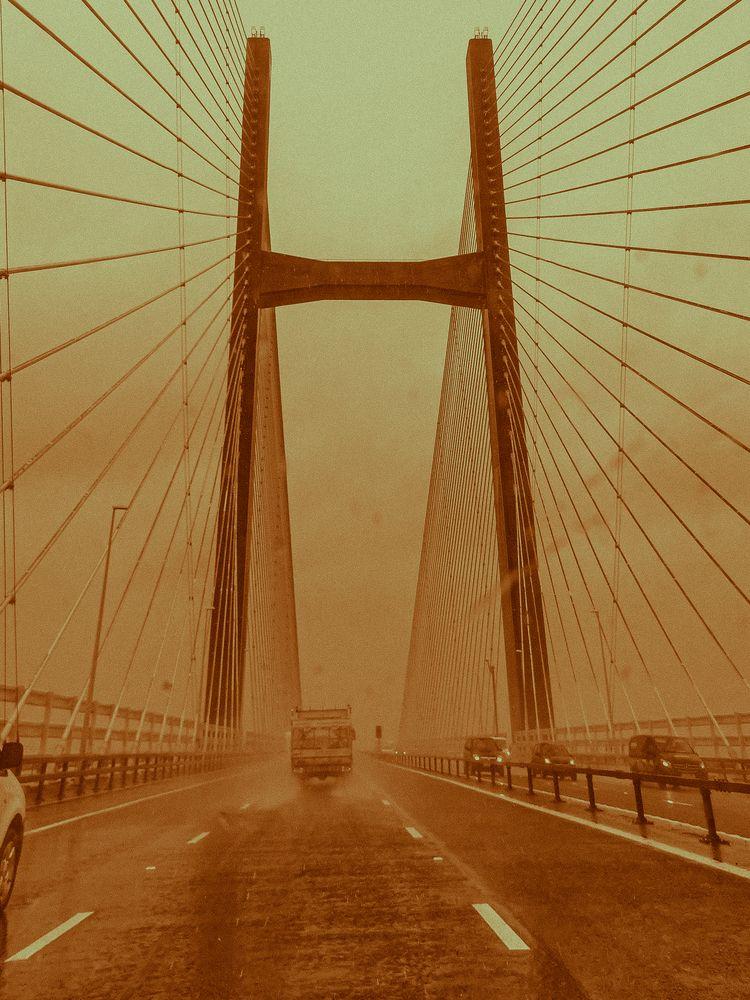 Bridge Wales - wales, bridge, sepia - leahvonnoire | ello