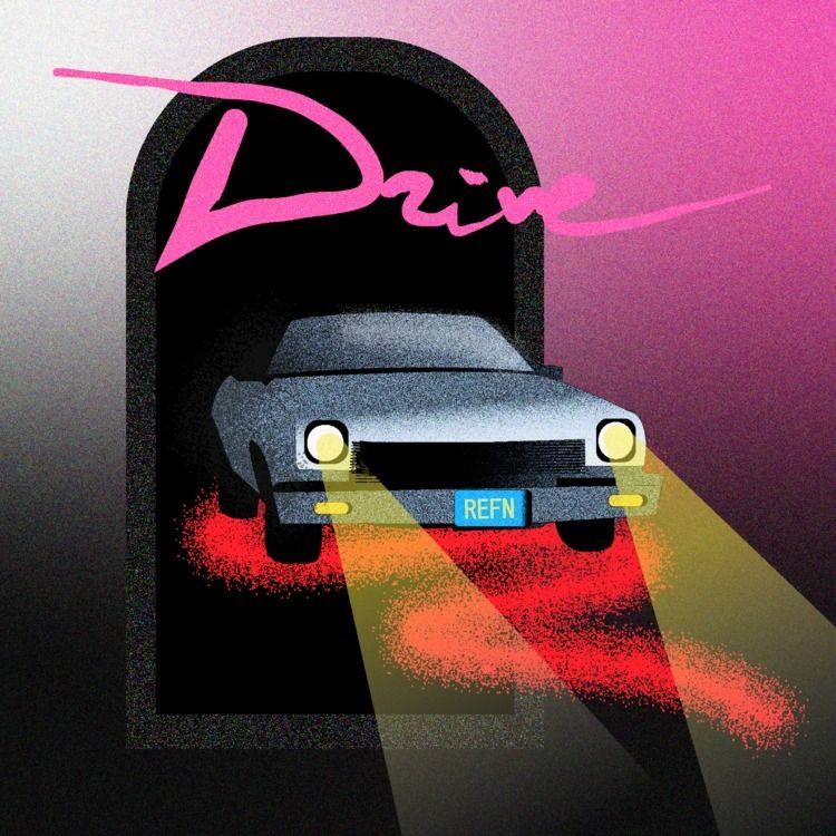 Drive - posterdesign, poster, print - yuliacmbt | ello