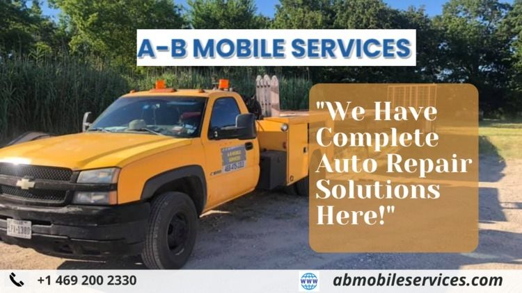 Mobile Auto Mechanic Repair Car - abmobileservices   ello