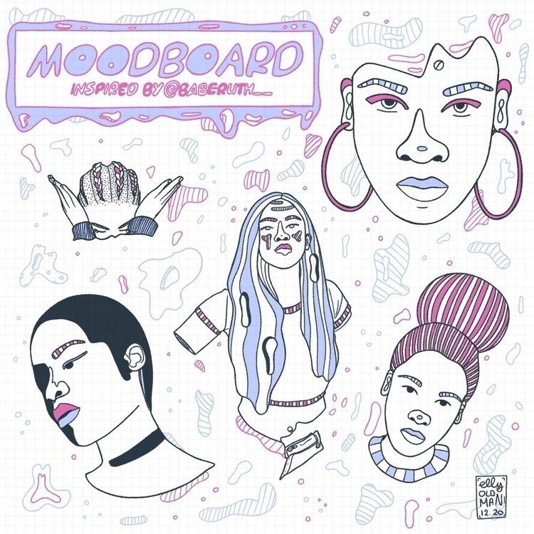 Moodboard - mood, girl, pastel - ellyoldman | ello