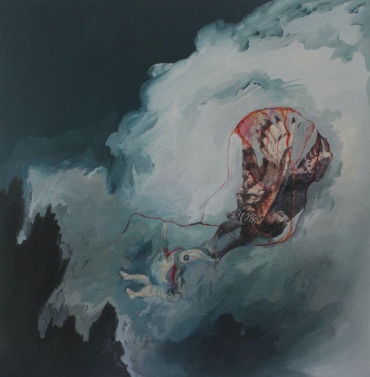 'Denial Death - tessateixeira, abstractpainting - tessatux | ello