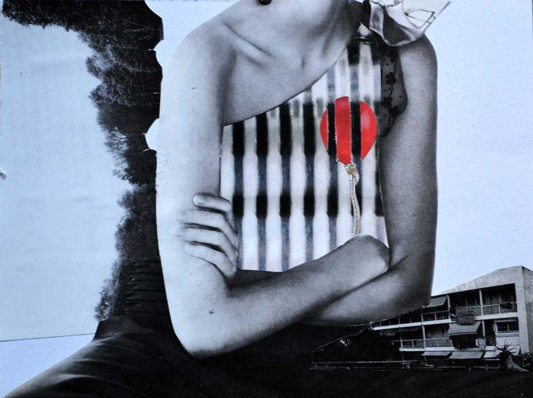 feel free Size: 20 15 cm Paper  - lane_collage | ello