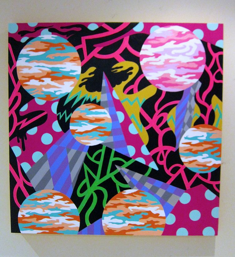 painting 2021, titled Dissonanc - andydass | ello