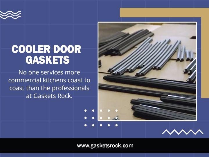 Cooler Door Gaskets seal gaps d - gasketsrock   ello