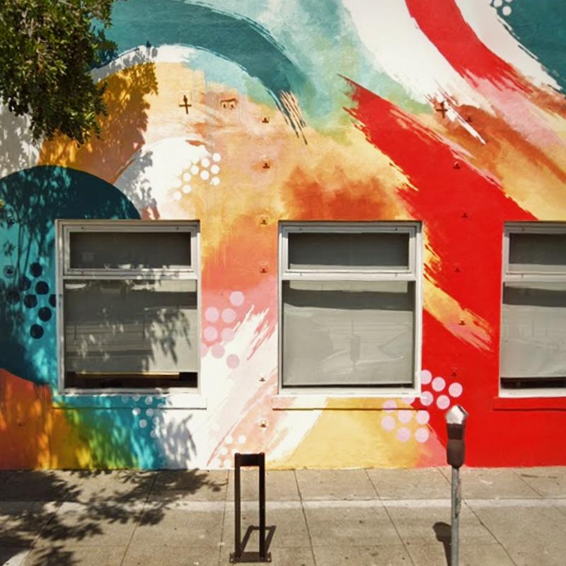 Walls / Colorado Avenue, Santa  - dispel | ello