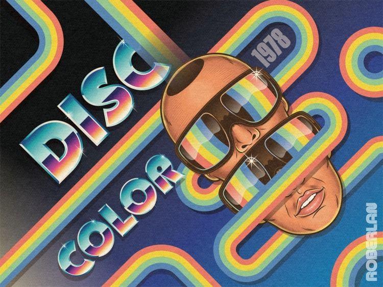 Disc Color vintage 70s disco in - roberlan | ello