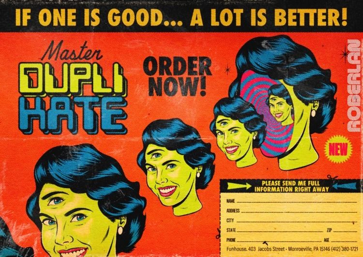 DupliKate Vintage Surrealist ad - roberlan | ello