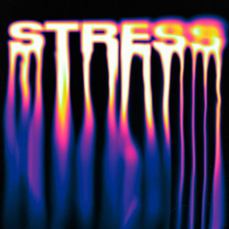 STRESS - albumcover, artwork, liquidtypography - andrelopesbatista | ello