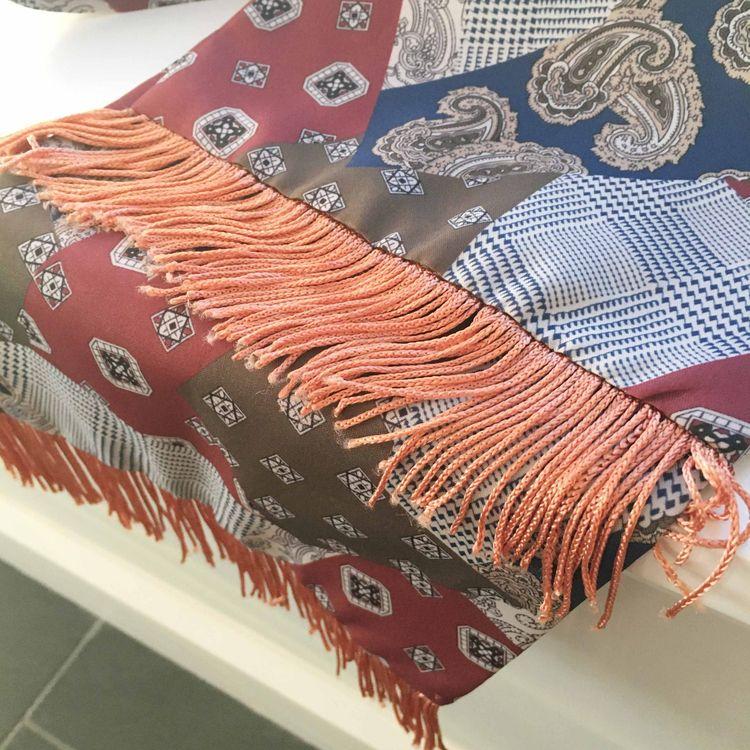 Rectangle boho style scarf - wenyyc | ello