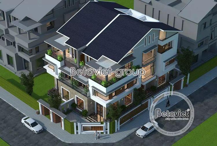 Thiết kế nhà phố vừa ở kinh doa - phe0201 | ello