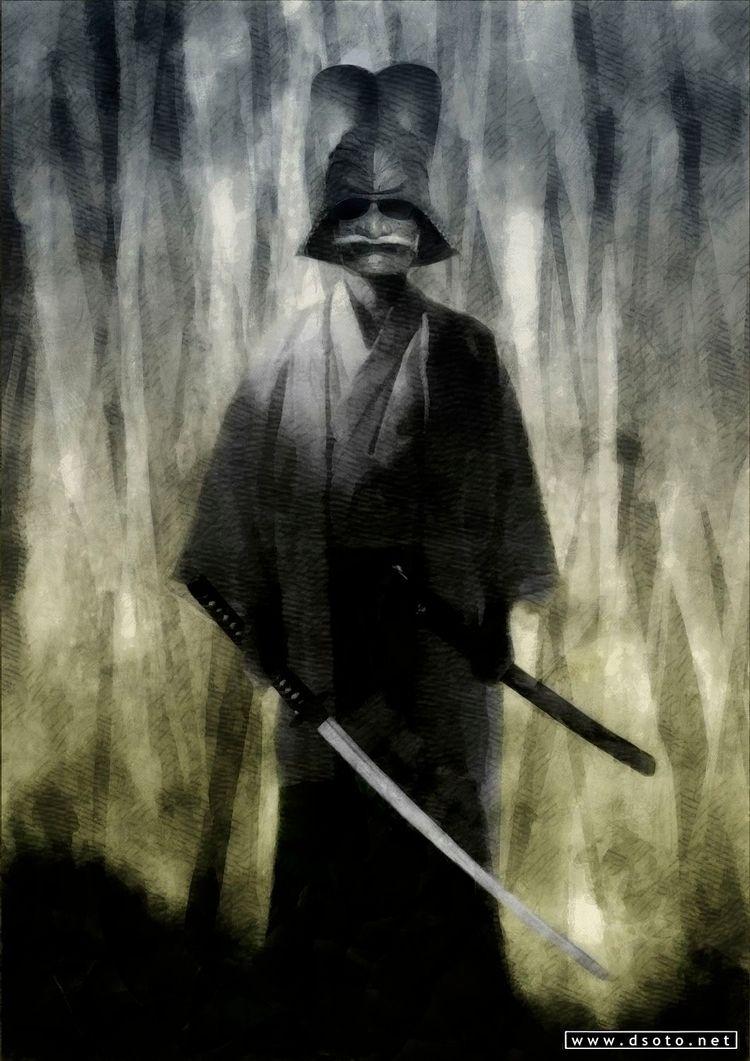 Samurai ghost Fantasma samurai  - dsoto | ello