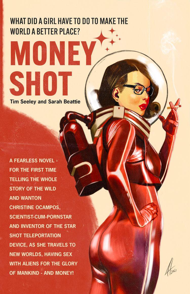 Fan Art Money Shot - illustration - joelherreraart | ello