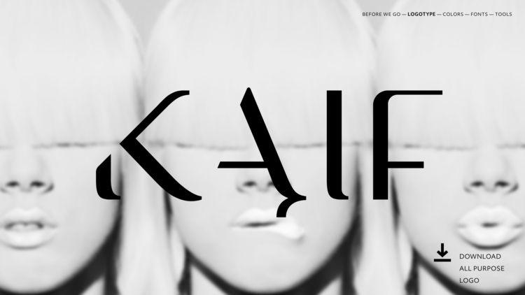 KAIF. Restaurant brand Commerci - designerus | ello