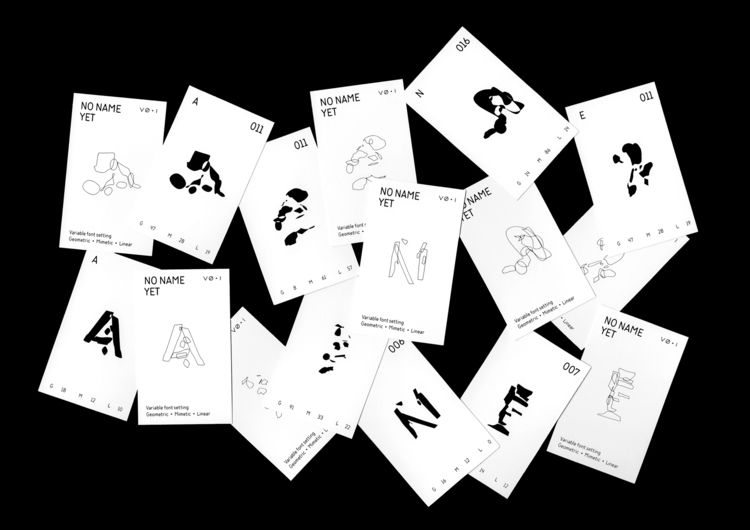 variable typeface aims experime - laiechin | ello