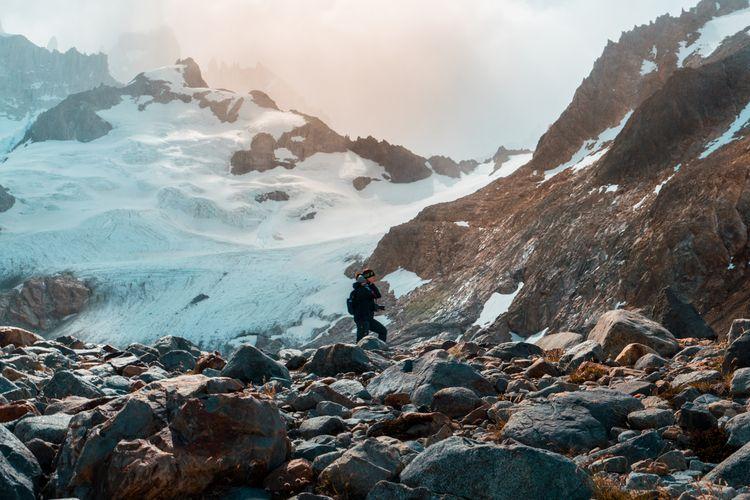 Mt. Fitzroy, El Chalten, Argent - dis_satisfied | ello