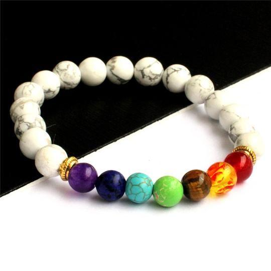 Authentic Chakra Bracelet Men W - mindfulessences | ello