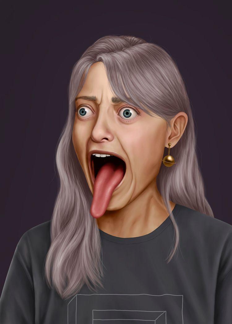 Digital painting 2019 - illustration - annicaklingspor | ello