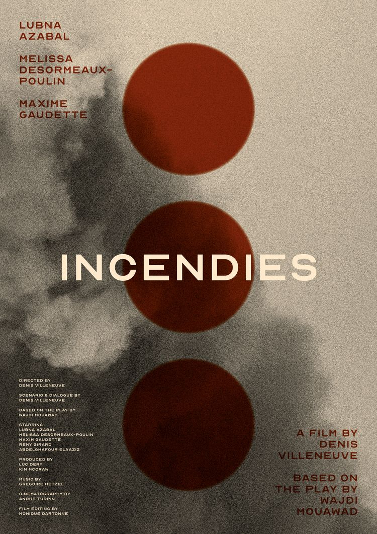 Film poster Incendies (Canada,  - mathieuvancamp | ello