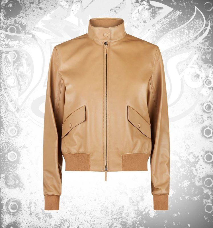 Devilson Leather Bomber Jacket  - devilson | ello