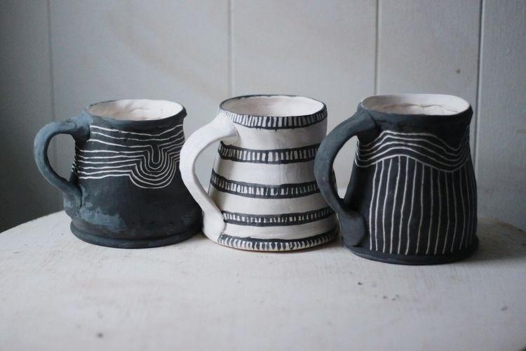 mugs great coffee - Nexus Coffe - rollinghillspottery   ello