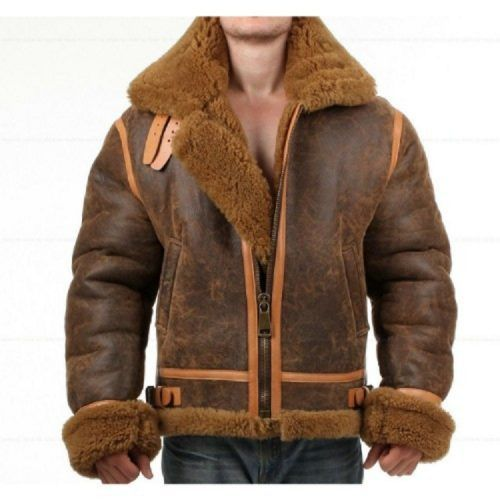 Distressed Faux Shearling Genui - mrstyless   ello