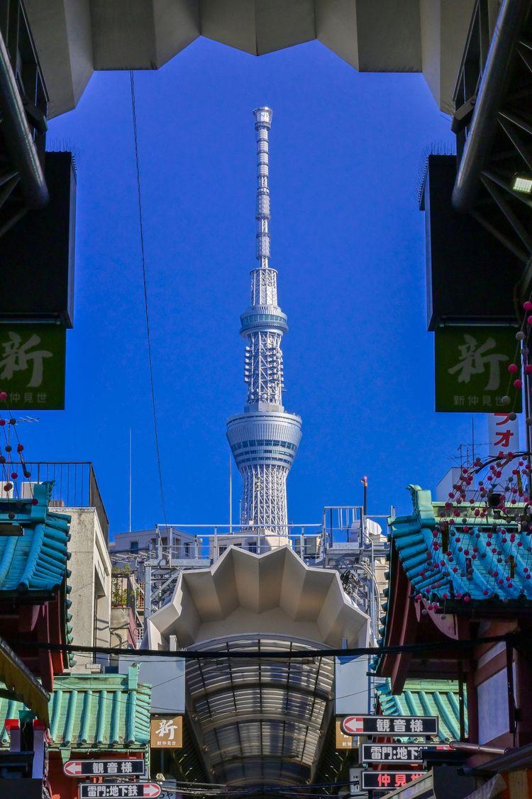Tokyo Skytree gap roof Nakamise - yoshirou | ello