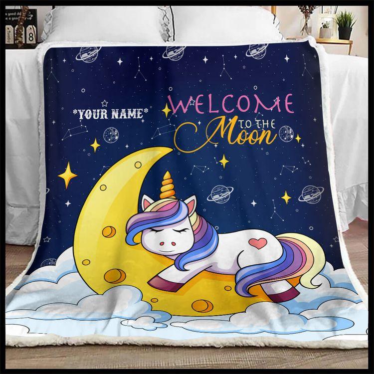 Shop Unicorn Blanket 90 LoveHom - 90lovehome | ello