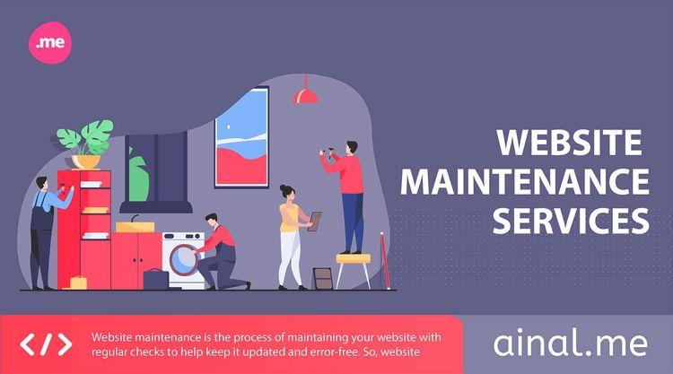 Ongoing Website Maintenance Ser - ainal_me | ello