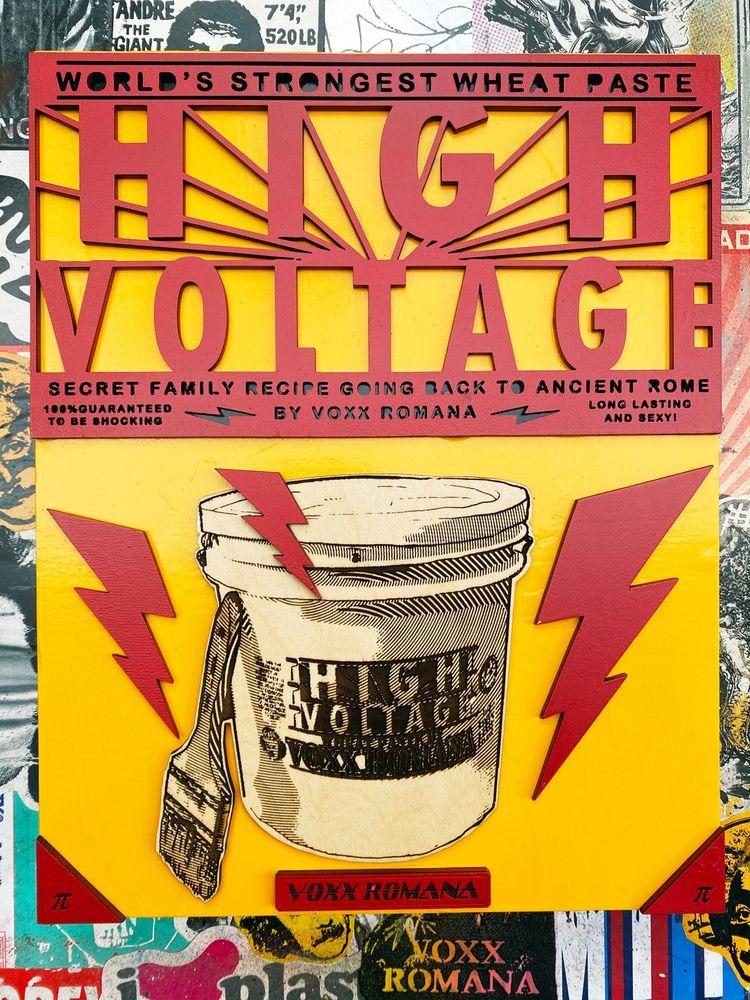 High Voltage - worlds strongest - voxxromana | ello