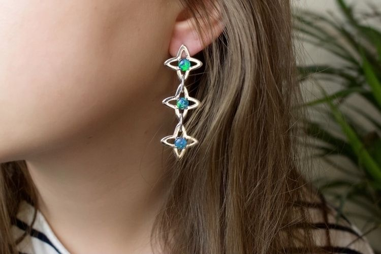 favourite earrings - medieval s - theserpentsclub   ello