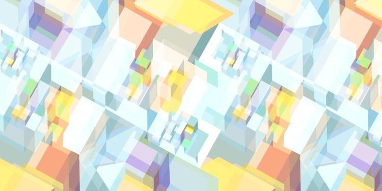 Geometric Colorful Pattern  - colorscheme - gastimo   ello