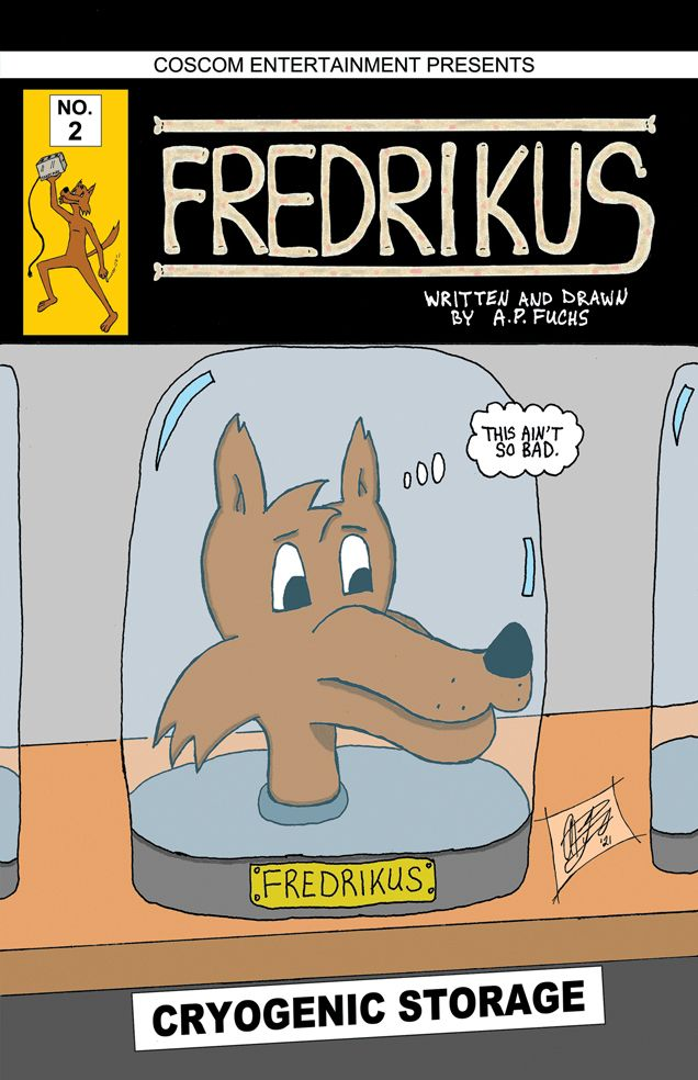 cover issue webcomic, FREDRIKUS - apfuchs | ello